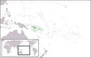 Solomon Islands - Location